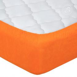 Махровая простыня Апельсин