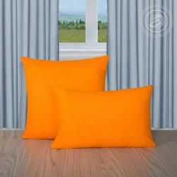 Махровая наволочка Апельсин
